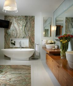 Winziges Badezimmer Luxus Modernen Bdern Master Zeitgemsses Wohnen Zeitgenssisches Design Miami Homes Ideen Halle