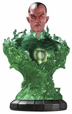 GREEN LANTERN CORPS MOVIE 1:4 SCALE SINESTRO BUST STATUE FIGURE DC DIRECT COMICS