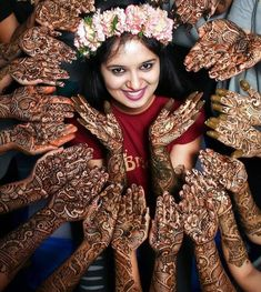 Fun Bridal Mehndi Poses You Wouldn't Want to Miss! Sangeet and mehndi photography is the new métier that makes wedding photography interesting. As Nowadays brides are having unique bridal mehndi poses to display their mehndi and here are some of them! Mehendi Photography, Indian Wedding Couple Photography, Bride Photography, Fashion Photography, Bridal Poses, Bridal Photoshoot, Foto Fun, Before Wedding, Foto Pose