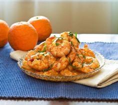 Super flavorful Cuban Mojo Shrimp. Perfect for lent