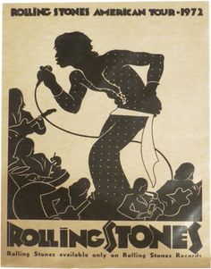 Rolling Stones American Tour  1972  I was so very young (Jr. High aged) when this concert happened or came on the scene.