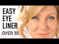 Eyeliner tutorial for mature eyes! This mature eyes makeup tutorial with tips and tricks to create a youthful, more radiant eye. - Eyeliner tutorial for mature eyes! This mature eyes makeup tutorial with tips an. Simple Eye Makeup, Natural Eye Makeup, Natural Eyes, Eye Makeup Tips, Makeup Hacks, Makeup Stuff, Natural Eyeliner, 60s Makeup, Applying Eye Makeup