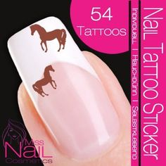 Nailart NAIL TATTOO STICKER - Christmas / Xmas - turkey - brown / beige >>> You can get additional details at the image link. Glam Nails, Cute Nails, Diy Nails, Pretty Nails, Nail Art Tattoo, Nail Tattoos, Country Nails, Tattoo Sticker, Animal Nail Art