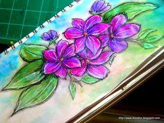 Dion Dior & More...: Twinkling Sketchbook Play