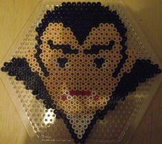 Halloween vampire hama perler beads by Lena B.