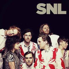 Arcade Fire en Saturday Night Live