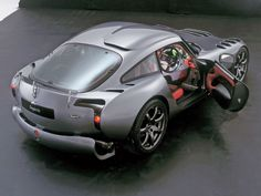 TVR Sagaris: Pure mechanical piece of art. Fun is not spoiled by any electronics.