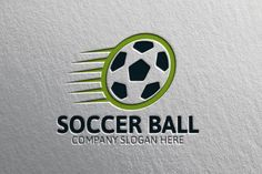 Soccer Ball Logo by josuf on Creative Market