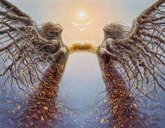 Trilhas de Luz: Sobre Anjos e Pássaros e Flores