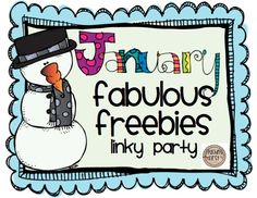 Teaching First: January Freebies Linkup Party!