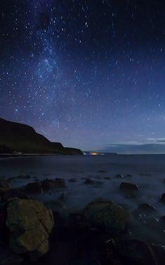 Milky Way over Bay, Normanville, Australia Copyright: Marek Vax