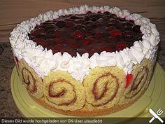 Uschis Himbeer-Sahne Torte