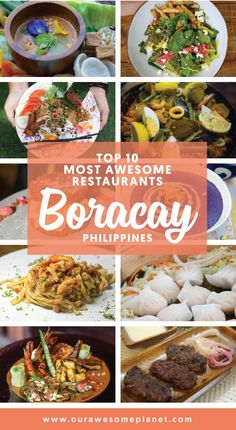 Top 10 Awesome Restaurants in Boracay, Philippines #travel #philippins #foodguide #restaurants #travelblog #traveling
