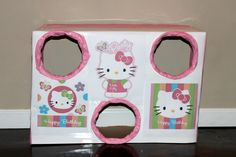 Hello Kitty Birthday Party- Bean Bag toss game