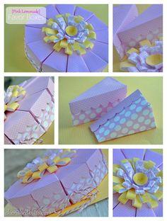 Dessert Box Die Collage