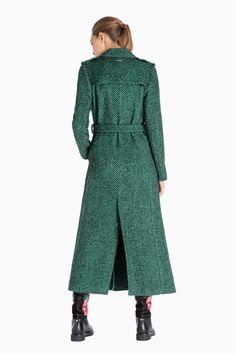 TWINSET Simona Barbieri :: A/I 16 :: Giacche - Cappotti :: cappotto lungo spinato :: PA6272