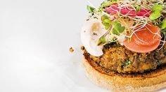 Quinoa, Sweet Potato, and Walnut Veggie Burgers Recipe
