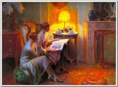 After Tea by Delphin Enjolras