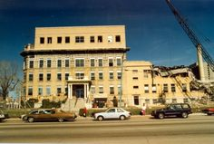 The Salt Lake Country Hospital, South & State was a landmark in the valley in the Mystery Photos, County Hospital, Slc Utah, Salt Lake City Utah, Back In The Day, Abandoned Places, Street View, Memories, Travel
