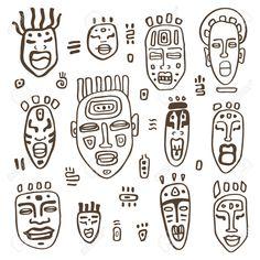 Resultado de imagen de MASCARAS AFRICANAS