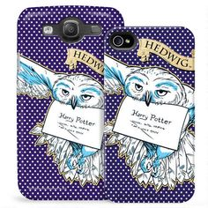 Hedwig Phone Case for iPhone and Galaxy