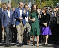 The royal couple flew from their Canada tour base of Victoria to the city of Kelowna, in the beautiful Okanagan Valley on the fourth day of their royal tour of Canada.