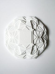 Sculpture Kaleidoscope white by maudvantours on Etsy