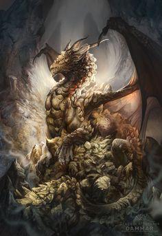 Dragons of Incense - Dammar by AlectorFencer on DeviantArt