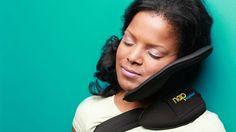 Nap Anywhere device promises better travel sleep.