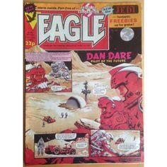 Eagle 11/06/1983 UK Paper Comic Sci Fi