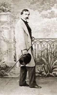 Young man. Istanbul, urban fashion, ca 1870. Photo by Abdullah Freres.