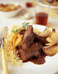 Plum-Spiced Beef Brisket  - CountryLiving.com