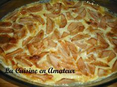 La cuisine en amateur de Maryline: Flognarde aux pommes