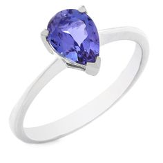 18 carat white gold tanzanite ring Tanzanite Rings, Jewlery, White Gold, Jewels, Jewerly, Schmuck, Jewelry, Jewelery, Fine Jewelry