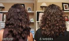 Curly girl method described. I started using some tips from this blog in January - happy hair! Julie