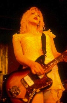 Babydoll dresses have never been THIS iconic until the moment #CourtneyLove wore one back in the #90s
