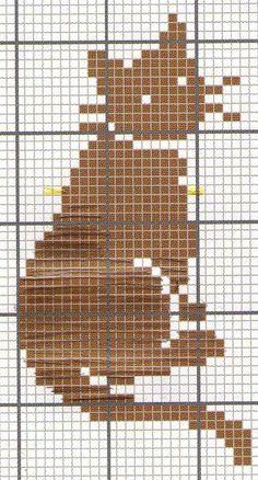 Brilliant Cross Stitch Embroidery Tips Ideas. Mesmerizing Cross Stitch Embroidery Tips Ideas. Cat Cross Stitches, Cross Stitch Charts, Cross Stitch Designs, Cross Stitching, Cross Stitch Patterns, Chat Crochet, Crochet Cross, Filet Crochet, Crochet Cat Pattern