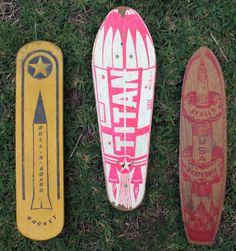 60s Skateboard Decks. Honus Wagner, meet Stacey Perelta.