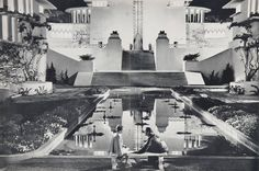 Lost Horizon (Frank Capra, 1937). Art direction Stephen Goosson. Set Decoration Babs Johnstone.