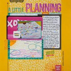 Ideas for Going from Planner to Scrapbook Page | Marcia Fortunato | Get It Scrapped