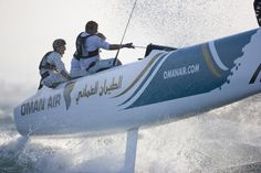 Extreme Sailing Series 2011-Oman, Air,Muscat, Oman.