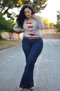 Plus size street style looks Plus Size Fashion Blog, Curvy Girl Fashion, Plus Fashion, Womens Fashion, High Fashion, Look Plus Size, Plus Size Women, Plus Size Street Style, Moda Feminina Plus Size