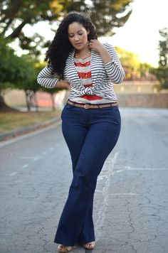 Girl with Curves. My favorite blogger Tanesha. I absolutely adore her style