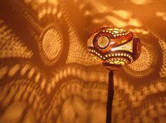 100% HANDMADE Gourd lamp floor lamp interior design by JUNIORCITY
