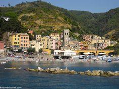 Monterosso al Mare.  Perfect for a honeymoon!