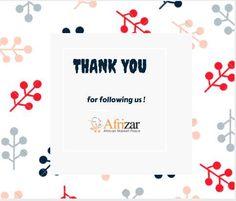 #AFRIZAR #Thankyou!