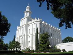 Click to enlarge this image of the St. George Utah Mormon Temple