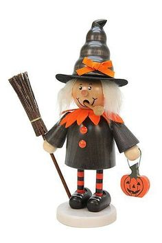 Christian Ulbricht German Incense Smoker Rascal Witch - 21,0 cm / 8 in (35-472)