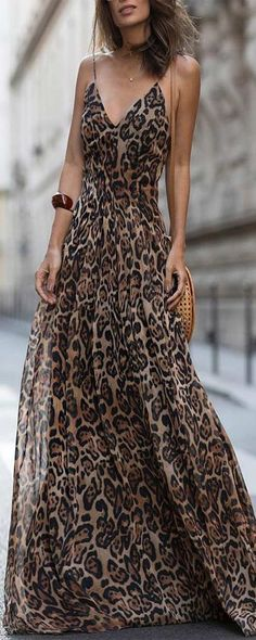 6c9150c2e Las 14 mejores imágenes de Vestidos estampados de leopardo