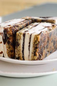 CHOCOLATE CHIP COOKIE DOUGH ICE CREAM SANDWICHES